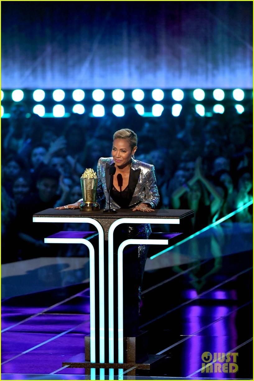 tiffany haddish jada pinkett smith trailblazer award mtv awards 2019 01