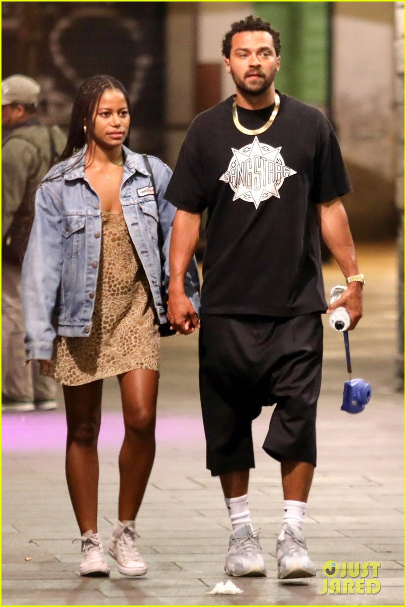 jesse williams taylour paige romantic stroll in italy 05