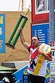 joey chestnut prepares hot dog eating contest 14