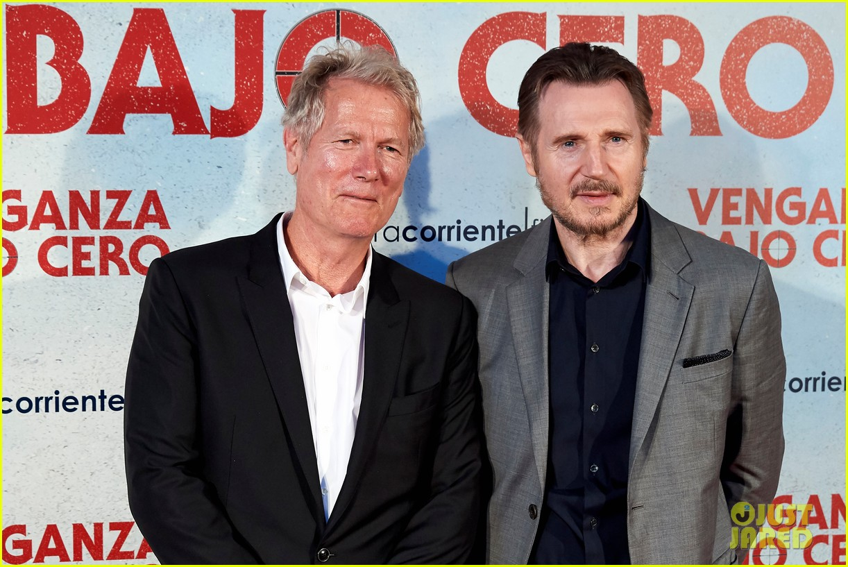 Liam Neeson Brings 'Cold Pursuit' To Madrid - Watch Trailer