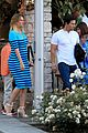 mark wahlberg grabs dinner with his family in beverly hills 01