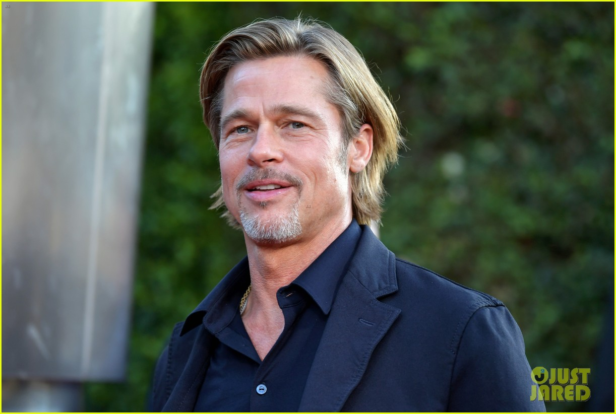 brad pitt ruth negga step out for ad astra premeire 20