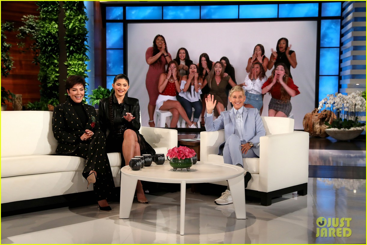 kylie jenner says her sisters tease her about being a billionaire on ellen 04