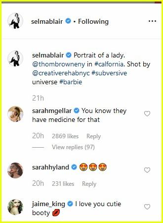 selma blair instagram