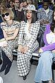 cardi b blackpinks jennie kim sit front row at chanel fashion show 05