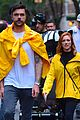 brittany snow fiance tyler stanaland rare appearance halloween parade nyc 03