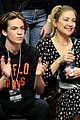kate hudson danny fujikawa bring sons ryder bingham to clippers game 04
