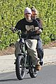 justin hailey bieber bike around the neighborhood 05