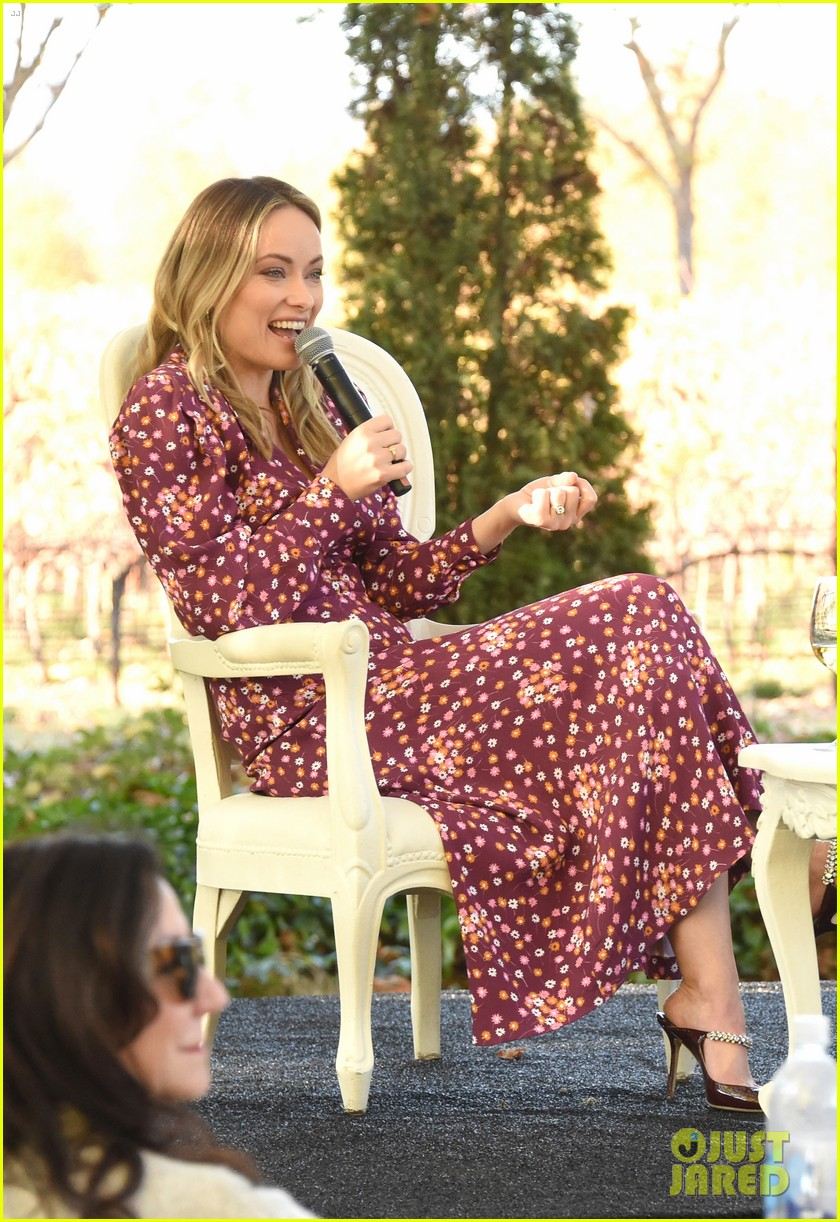 olivia wilde raymond vineyards trailblazer award napa film fest 15