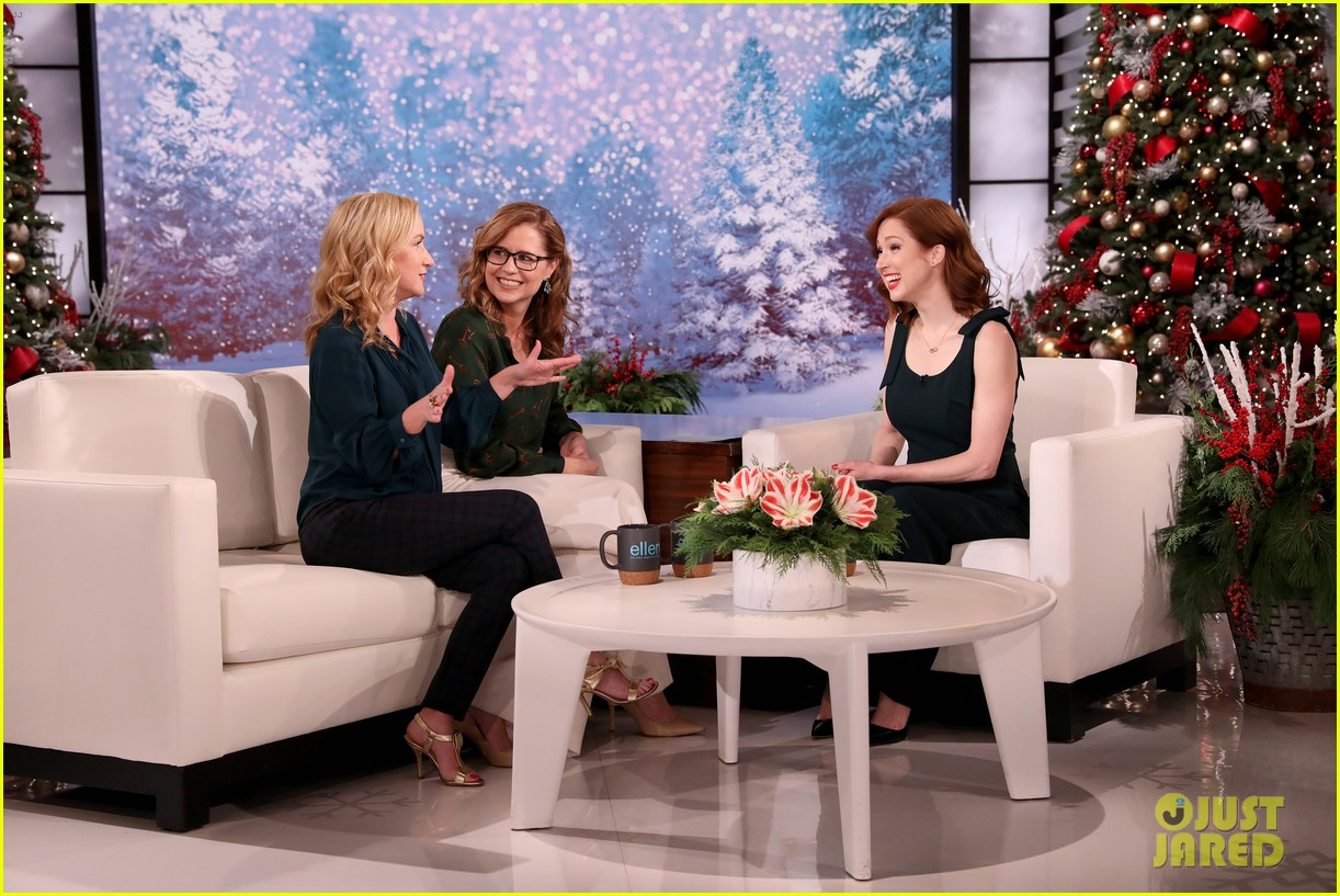 ellie kemper jenna fischer angela kinsey the office reunion 11