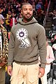 michael b jordan the weeknd lakers clippers game 01