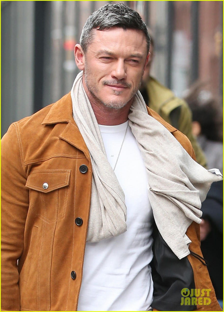 luke evans promotes his new music in nyc 04