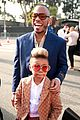 anderson paak family arrive at grammy awards 03
