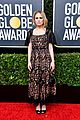 anna paquin floral look golden globes 2020 stephen moyer 06