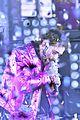 post malone hugs bts pink suit ball drop 14