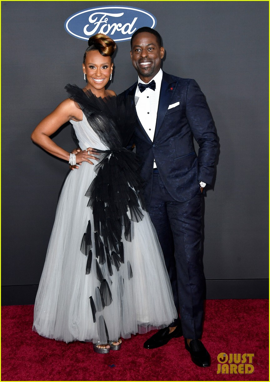 sterling k brown ryan michelle bathe couple up naacp image awards 05