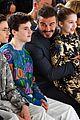 david beckham kids support victoria beckham fashion show 12