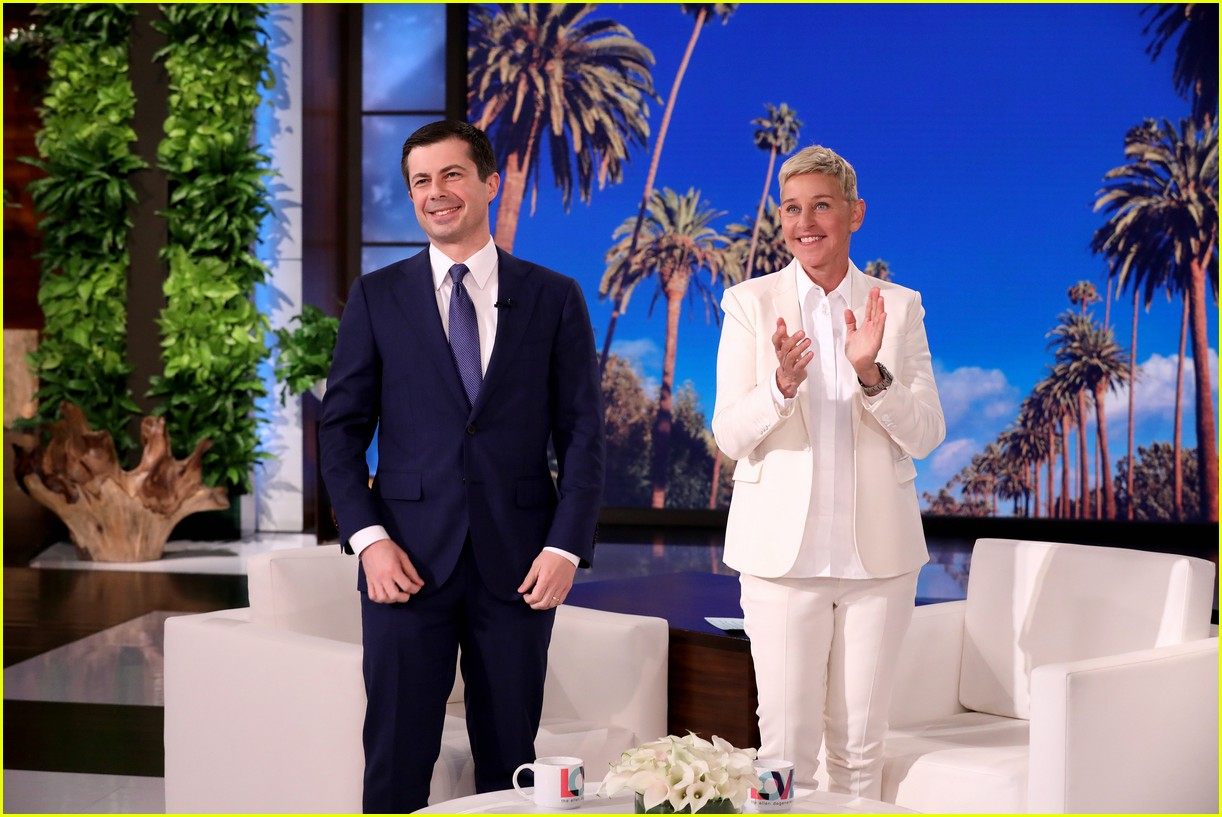 pete buttigieg on ellen 02