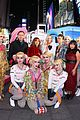 ewan mcgregor wears harley quinn pigtails birds prey times square 05