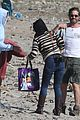 gerard butler relaxes at the beach with morgan brown 10