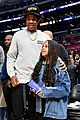 jay z blue ivy father daughter outing lakers game 05