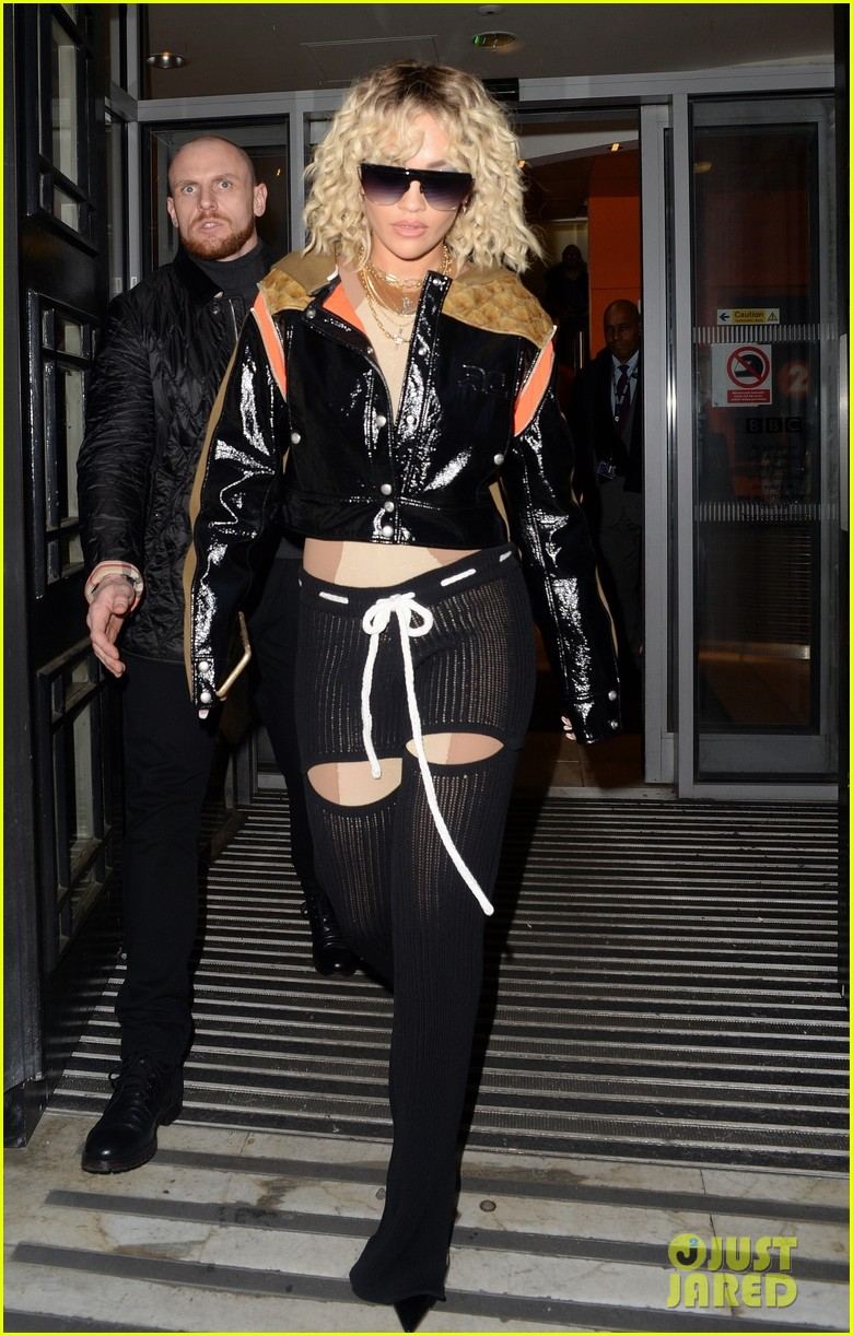 rita ora steps out to promote how to be lonely despite coronavirus concerns 01