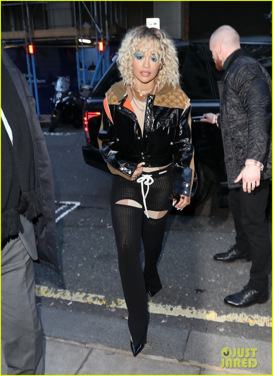 rita ora steps out to promote how to be lonely despite coronavirus concerns 03