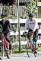 dennis quaid biking with fiancee laura savoie 06