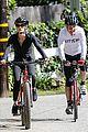 dennis quaid biking with fiancee laura savoie 14