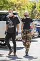 miley cyrus cody simpson wear masks on their coffee date 14