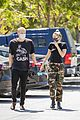 miley cyrus cody simpson wear masks on their coffee date 30