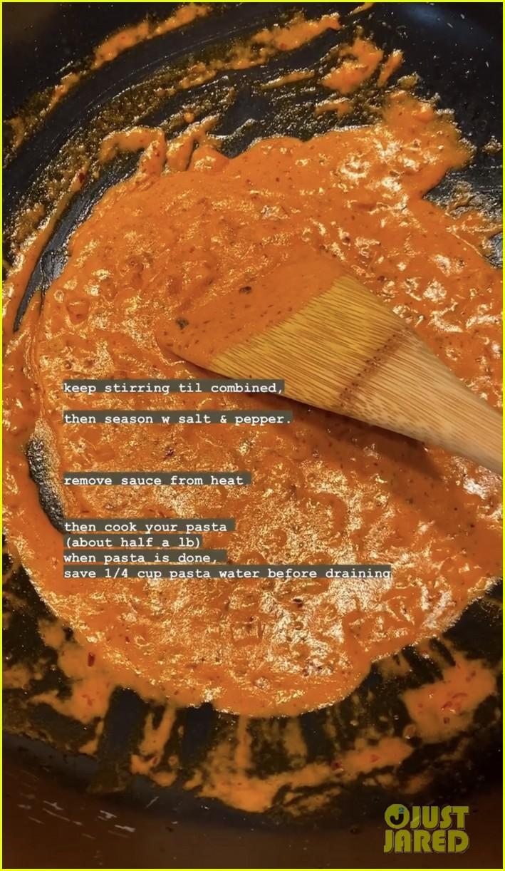 gigi hadid spicy salsa recipe no vodka 05