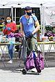 joel mchale buff biceps at farmers market 38