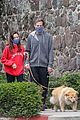 aubrey plaza jeff baena walk their dogs rare outing 03