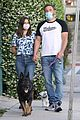 ben affleck masks walking ana de armas 14