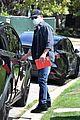 matt damon heads home after visiting ben affleck 01