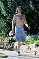 brad falchuk goes for shirtless run 01