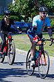 Photo 2 of Dennis Quaid & Fiancee Laura Savoie Go For Afternoon Bike Ride