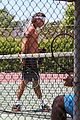 gavin rossdale goes shirtless playing tennis 53