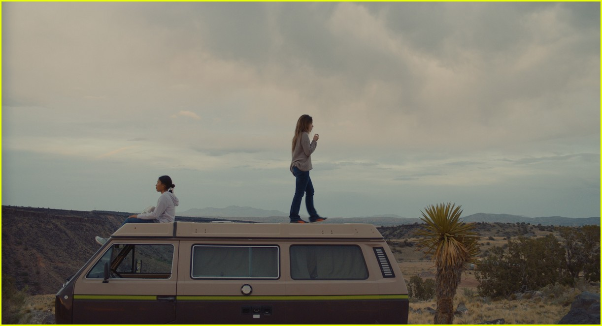 sabrina carpenter stars in the short history of the long road trailer 01