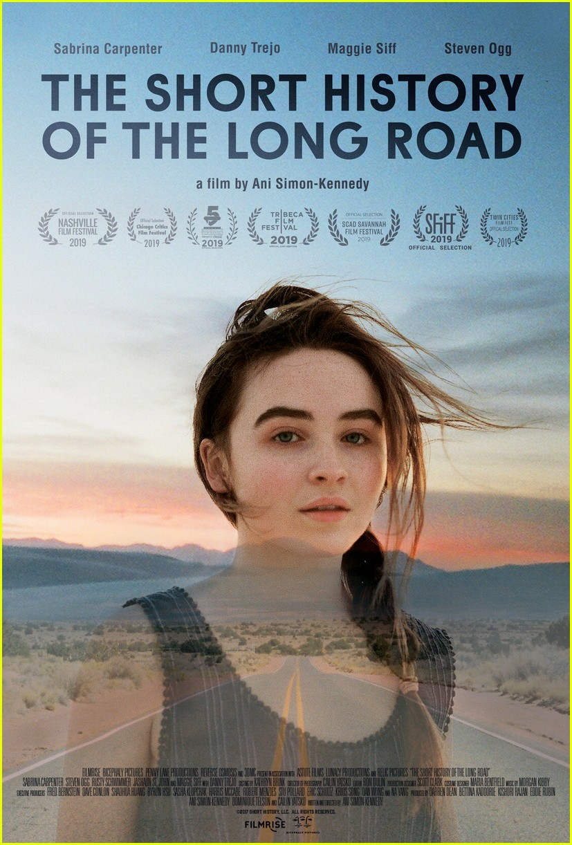 sabrina carpenter stars in the short history of the long road trailer 02