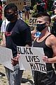 Photo 4 of NFL Player Ryan Russell Protests for Black Lives Matter with Boyfriend Corey O'Brien
