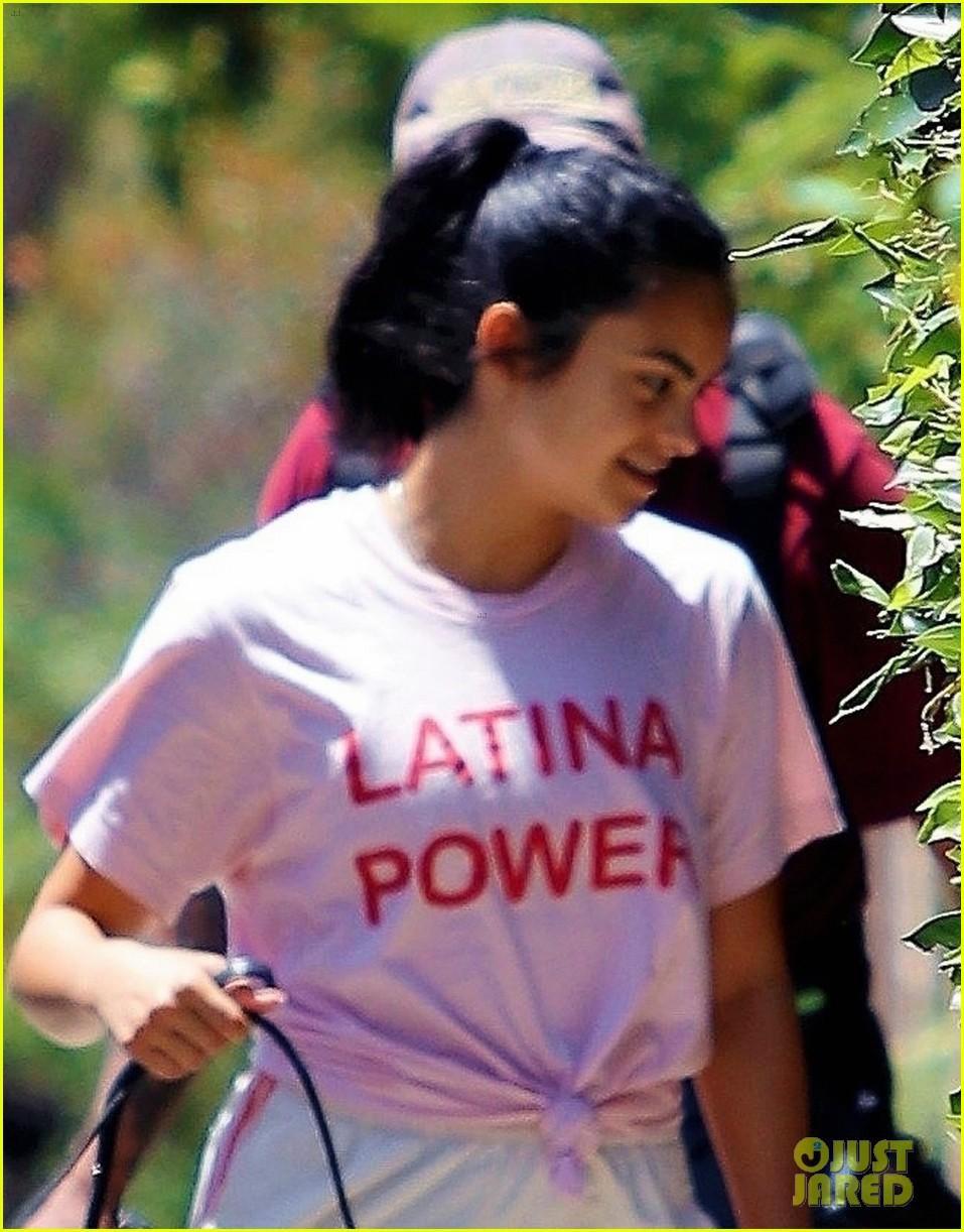 camila mendes celebrates her heritage with latina power shirt 02