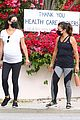 lea michele thursday walk with her mom 16
