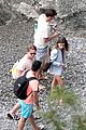 emilia clarke vacation with friends 46