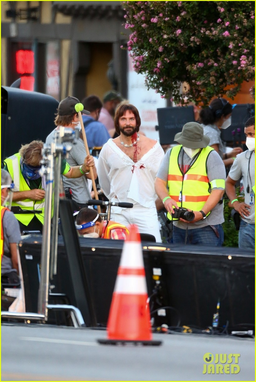 bradley cooper bloody on set photos 18