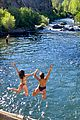 joey king taylor zakhar perez waterfall getaway 14