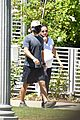 lea michele cozies up to zandy reich on morning walk 26
