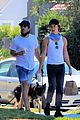 zachary quinto picks up food with a friend 05
