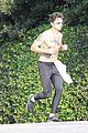 shia labeouf shirtless jog 13